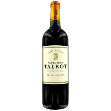 CHATEAU TALBOT 2010 (France - Vin Bordeaux - Saint-Julien AOC - Vin Rouge - 0,75 L)