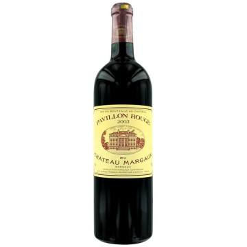 PAVILLON ROUGE 2010 - SECOND VIN DU CHATEAU MARGAUX (France - Vin Bordeaux - Margaux AOC - Vin Rouge - 0,75 L)