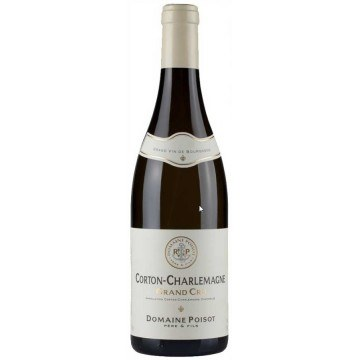 CORTON-CHARLEMAGNE GRAND CRU 2011 - DOMAINE POISOT (France - Vin Bourgogne - Corton Charlemagne AOC - Vin Blanc - 0,75 L)