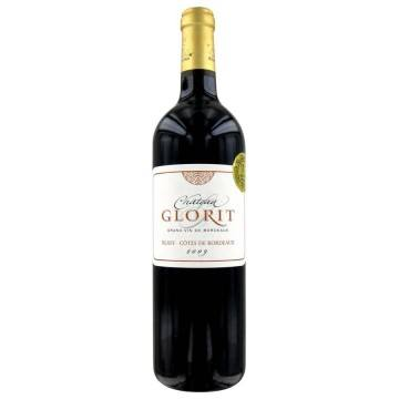 MAGNUM CHATEAU GLORIT 2009 (France - Vin Bordeaux - Blaye - Côtes de bordeaux - Vin Rouge - 1,5 L)