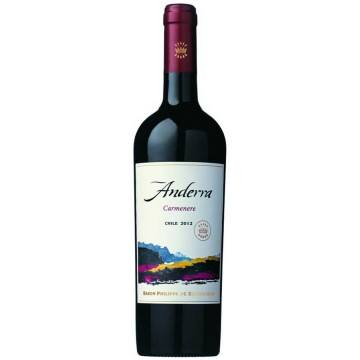 CARMENERE - ANDERRA 2012 - BARON PHILIPPE DE ROTHSCHILD (Chili - Vin Central Valley - Vin Rouge - 0,