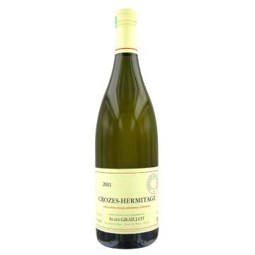 CROZES HERMITAGE BLANC 2013 - ALAIN GRAILLOT (France - Vin Rhône - Crozes-Hermitage AOC - Vin Blanc - 0,75 L)