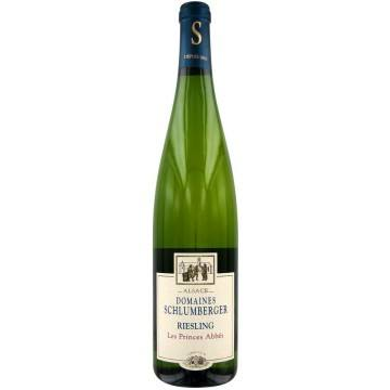 RIESLING 2011 - LES PRINCES ABBES - DOMAINE SCHLUMBERGER (France - Vin Alsace - Riesling  AOC  - Vin Blanc - 0,75 L)