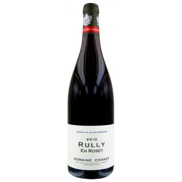 RULLY EN ROSEY 2010 - DOMAINE CHANZY (France - Vin Bourgogne - Rully AOC - Vin Rouge - 0,75 L)