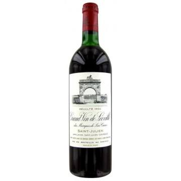 LEOVILLE LAS CASES 1985 - SECOND CRU CLASSE (France - Vin Bordeaux - Saint-Julien AOC - Vin Rouge - 0,75 L)