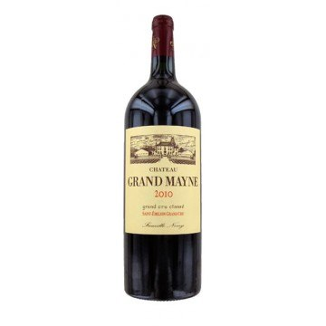 MAGNUM CHATEAU GRAND MAYNE 2010 (France - Vin Bordeaux - Saint-Emilion Grand Cru AOC - Vin Rouge - 1,5 L)