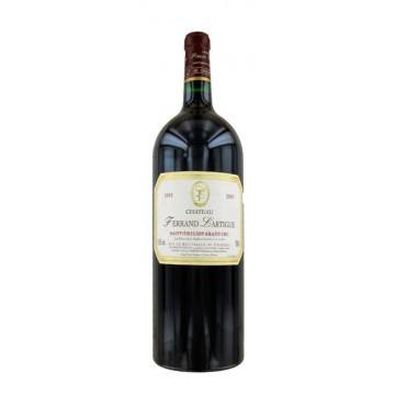 MAGNUM - CHATEAU FERRAND LARTIGUE 2005 (France - Vin Bordeaux - Saint-Emilion Grand Cru AOC - Vin Rouge - 1,5 L)