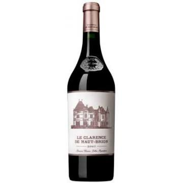 LE CLARENCE DE HAUT BRION 2010 SECOND VIN DU CHATEAU HAUT BRION (France - Vin Bordeaux - Pessac-Léognan AOC - Vin Rouge - 0,75 L)