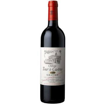 CHATEAU TOUR DE CASTRES 2011- SECOND VIN DU CHATEAU DE CASTRES (France - Vin Bordeaux - Graves AOC - Vin Rouge - 0,75 L)