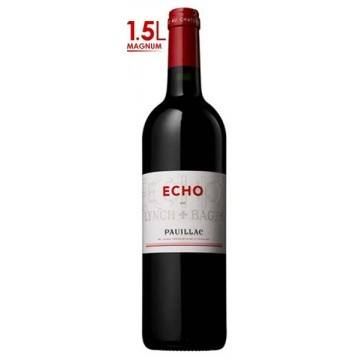 MAGNUM ECHO DE LYNCH BAGES 2010 - SECOND VIN DU CHATEAU LYNCH BAGES (France - Vin Bordeaux - Pauillac AOC - Vin Rouge - 1,5 L)