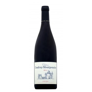 CHATEAU COUDRAY MONTPENSIER  - CHINON ROUGE TRADITION 2015