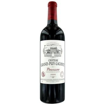 CHATEAU GRAND PUY LACOSTE 2005 (France - Vin Bordeaux - Pauillac AOC - Vin Rouge - 0,75 L)