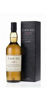 CAOL ILA AVEC ETUI - 12 ans ( Ecosse-Divers-Whisky-Divers-0,7L ) etiquette abimee