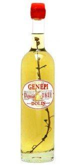 GENEPI - DOLIN 1821 ( France-Savoie-Génépi-0,7L ) etiquette abimee