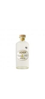 COEUR DE GENEPI 50°- DOLIN 1821 ( France-Savoie-Génépi-0,5 L ) etiquette abimee