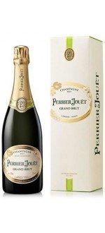 CHAMPAGNE PERRIER JOUËT - GRAND BRUT - AVEC ETUI (France - Champagne - Champagne AOC - Champagne Blanc - 0,75 L)