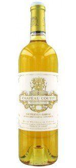 CHATEAU COUTET 2010 - 1ER CRU CLASSE (France - Vin Bordeaux - Barsac AOC - Vin Blanc - 0,75 L)