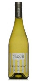 CHARDONNAY 2014 - DOMAINE DU TARIQUET (France - Vin Sud-Ouest - Côtes de Gascogne IGP - Vin Blanc - 0,75 L)