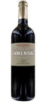 LA CLOSERIE DE CAMENSAC 2008 - SECOND VIN DU CHATEAU CAMENSAC (France - Vin Bordeaux - Haut-Médoc AOC - Vin Rouge - 0,75 L)