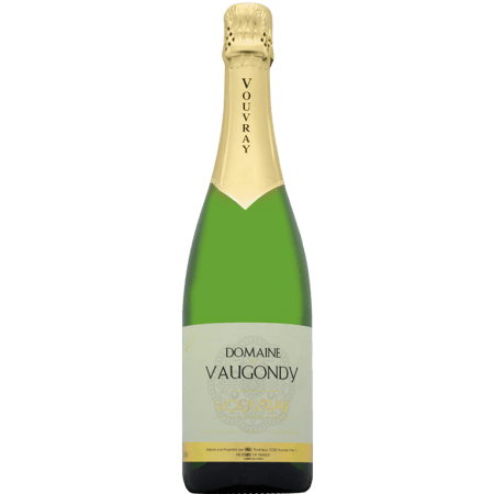 DOMAINE DE VAUGONDY - VOUVRAY METHODE TRADITIONNELLE BRUT