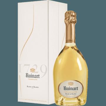 CHAMPAGNE RUINART - BLANC DE BLANCS - COFFRET LUXE