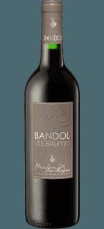 BANDOL LES BAUMES ROUGE 2012 - MOULIN DE LA ROQUE