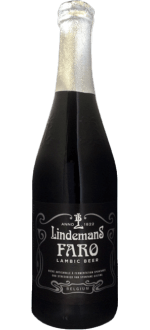 LINDEMANS FARO 75CL - BRASSERIE LINDEMANS