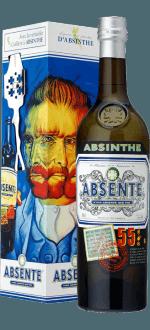 ABSENTE 55° AVEC CUILLERE - EN ETUI