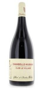 CLOS LE VILLAGE 2013 - DOMAINE HENRI FELETTIG (France - Vin Bourgogne - Chambolle-Musigny AOC - Vin Rouge - 0,75 L)