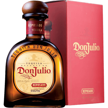 TEQUILA DON JULIO REPOSADO - EN ETUI