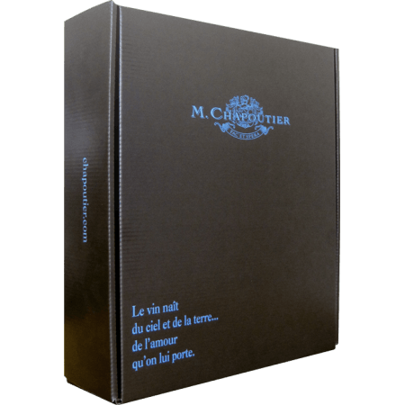 COFFRET CUVEE DESCHANTS MICHEL CHAPOUTIER
