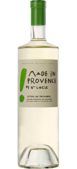 BLANC - MADE IN PROVENCE 2015 - DOMAINE SAINTE LUCIE