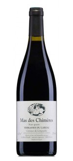 NUIT GRAVE 2012 - MAS DES CHIMERES (France - Vin BIO Languedoc - Terrasses du Larzac Coteaux du Languedoc AOC - Vin BIO Rouge