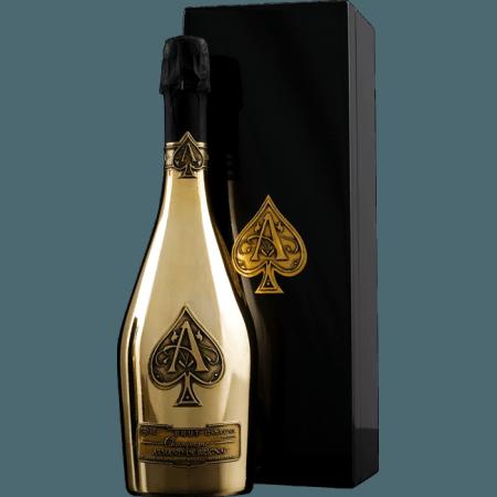 CHAMPAGNE ARMAND DE BRIGNAC - BRUT GOLD - COFFRET LUXE