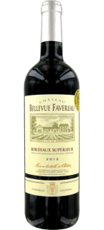 CHATEAU BELLEVUE FAVEREAU 2012