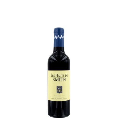 DEMI-BOUTEILLE LES HAUTS DE SMITH 2012 - SECOND VIN DU CHATEAU SMITH HAUT LAFITTE