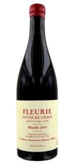 CUVEE DU CHAOS 2014 - LES BERTRAND (France - Vin Beaujolais - Fleurie AOC - Vin Rouge - 0,75 L)
