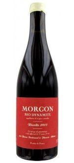 BIO-DYNAMITE 2014 - LES BERTRAND (France - Vin BIO Beaujolais - Morgon AOC - Vin BIO Rouge - 0,75 L)