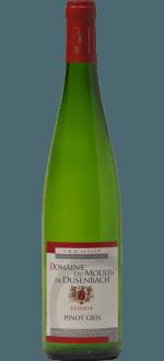 PINOT GRIS RESERVE 2015 - DOMAINE DU MOULIN DE DUSENBACH