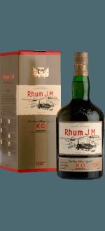 RHUM J.M. - TRES VIEUX RHUM AGRICOLE - X.O. - EN ETUI