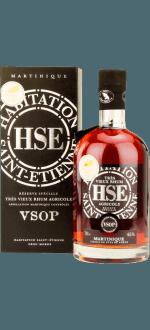 HSE TRES VIEUX RHUM AGRICOLE RESERVE SPECIALE VSOP - AVEC ETUI