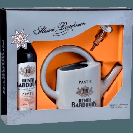 COFFRET PASTIS HENRI BARDOUIN + BEC VERSEUR + ARROSOIR