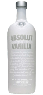 ABSOLUT VANILIA - VODKA AROMATISEE A LA VANILLE - ABSOLUT VODKA