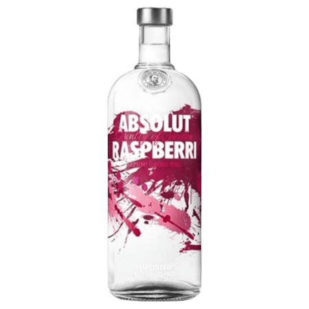 ABSOLUT RASPBERRI - VODKA AROMATISEE A LA FRAMBOISE - ABSOLUT VODKA