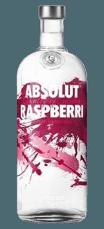 ABSOLUT RASPBERRI - VODKA AROMATISEE A LA FRAMBOISE - ABSOLUT VODKA