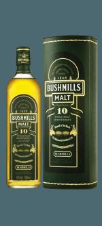 BUSHMILLS MALT 10 ANS - EN ETUI