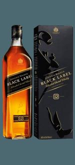 JOHNNIE WALKER BLACK LABEL 12 ANS - EN ETUI