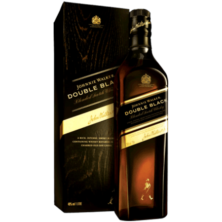 JOHNNIE WALKER DOUBLE BLACK - EN ETUI