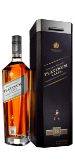 JOHNNIE WALKER PLATINUM LABEL 18 ANS - EN COFFRET