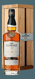 COFFRET THE GLENLIVET 25 ANS - EN COFFRET